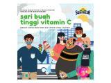 Jus segar Sunfresh Juice tinggi vitamin C bantu lawan virus